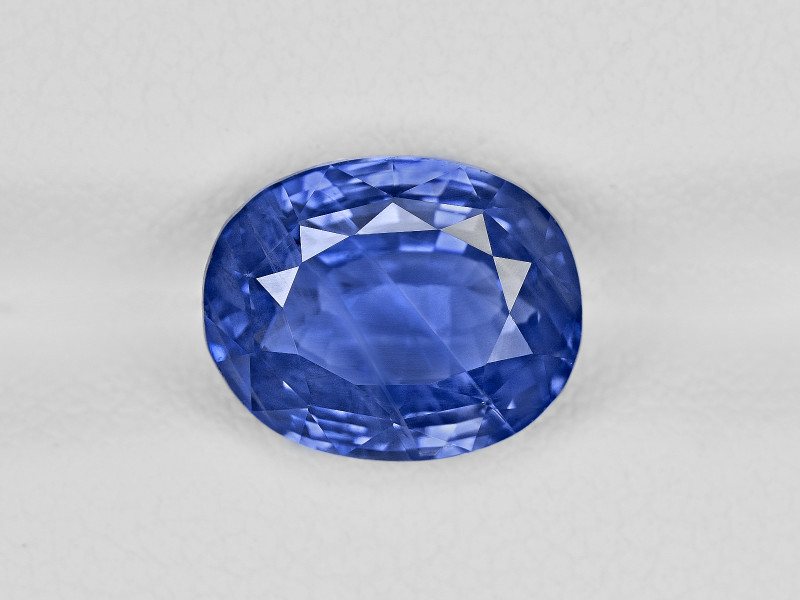 Blue Sapphire, 5.47ct - Mined in Kashmir | Certified by GIA