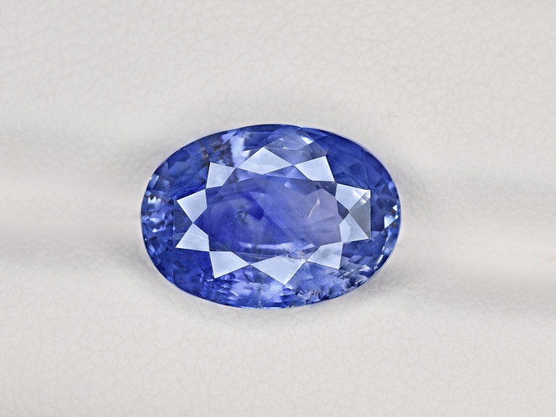 Blue Sapphire, 8.94ct - Mined in Kashmir | Certified by GIA