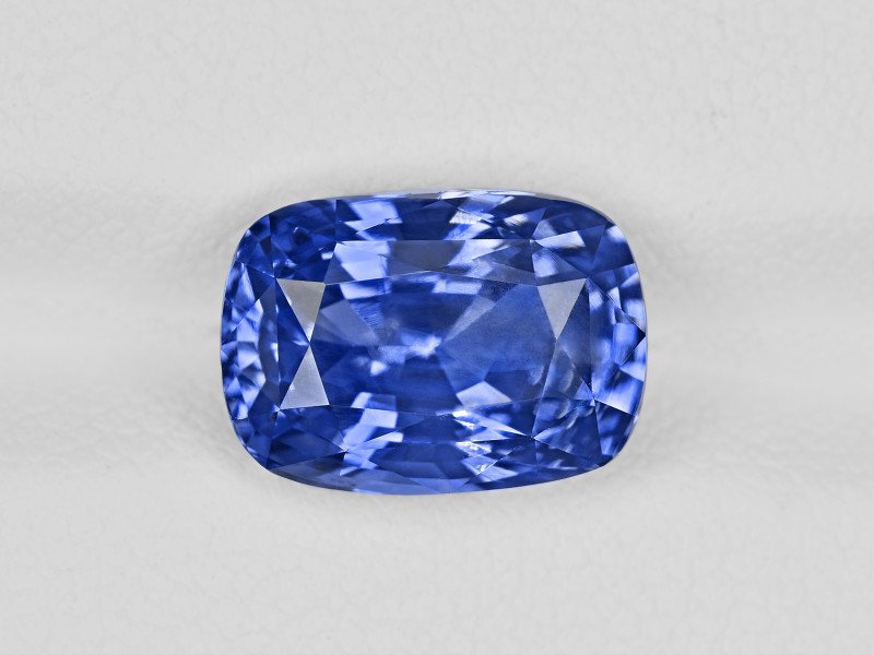 Blue Sapphire, 6.28ct - Mined in Kashmir | Certified by GIA