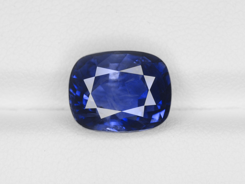 Blue Sapphire, 6.72ct - Mined in Kashmir | Certified by GIA