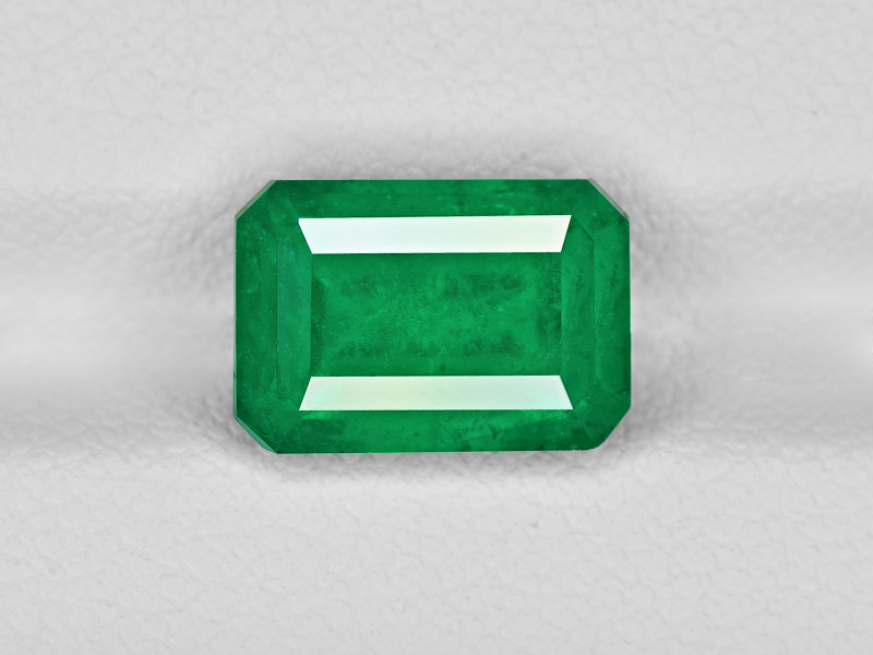 Emerald, 3.87ct - Mined in Colombia | Certified by GRS