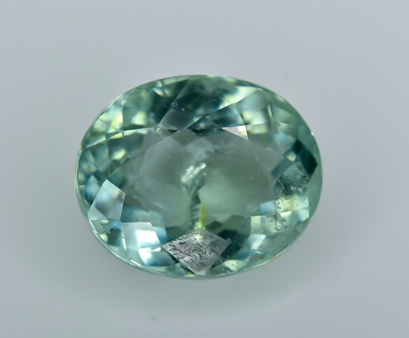 2.42 Crt Certified Paraiba Tourmaline Faceted Gemstone