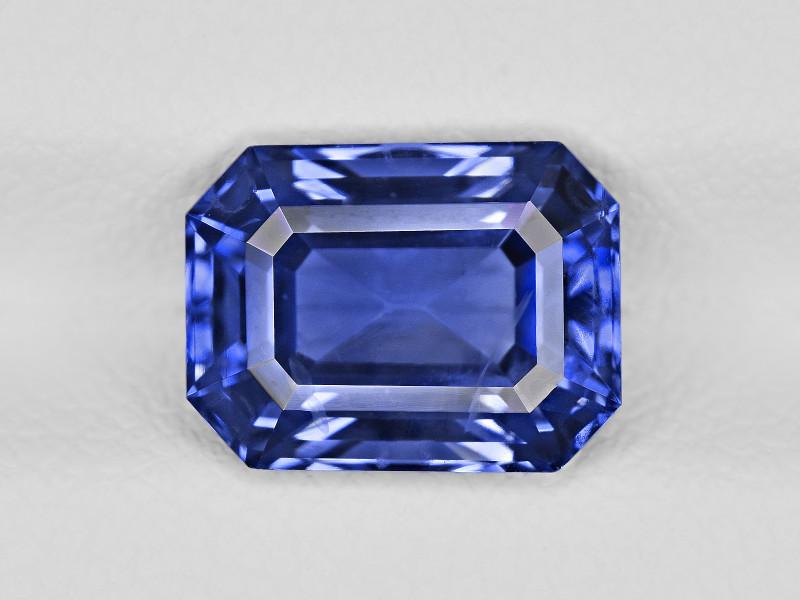 Blue Sapphire, 3.56ct - Mined in Sri Lanka | Certified by GRS