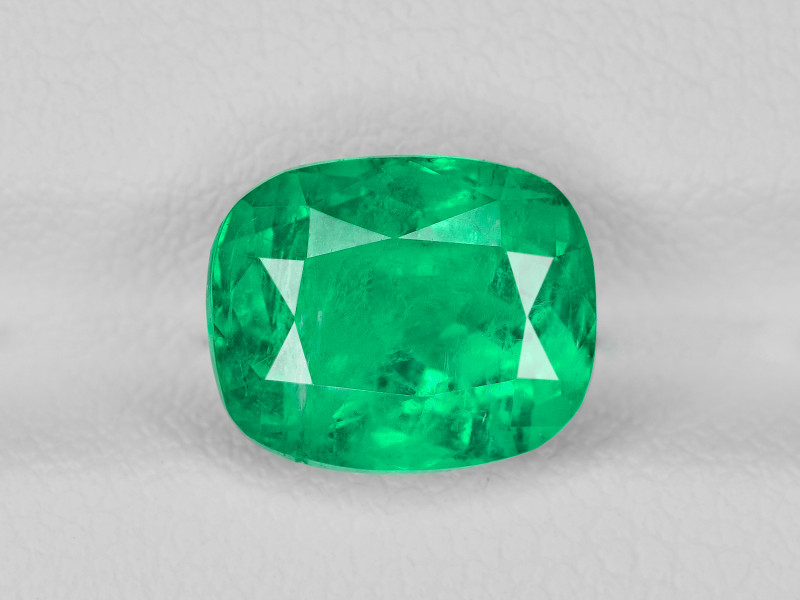 Emerald, 3.25ct - Mined in Colombia   Certified by GRS