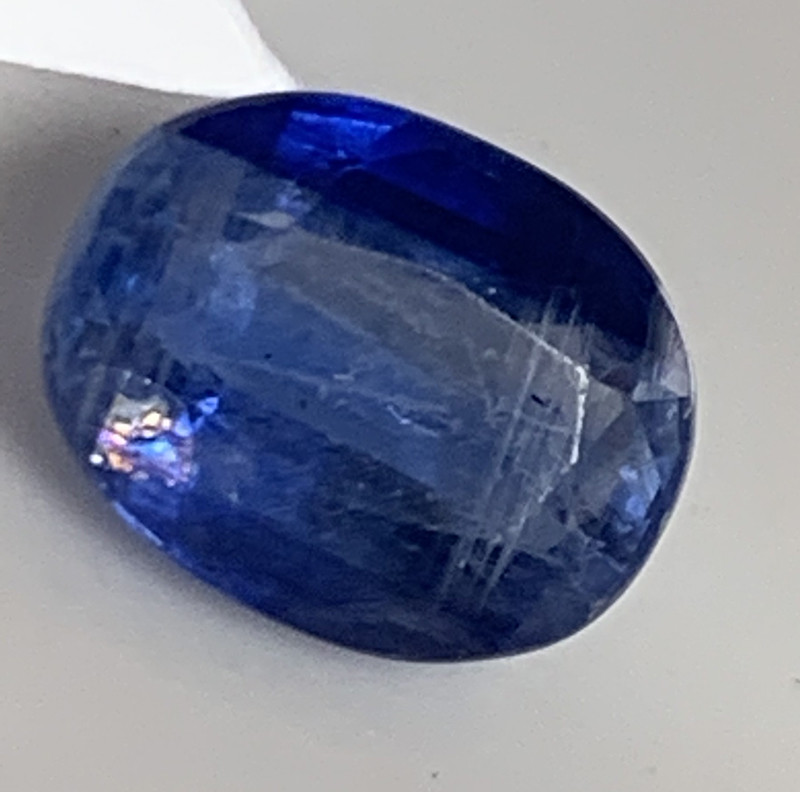 2.29CT SCRUFFY NEPAL BLUE KYANITE GEM -