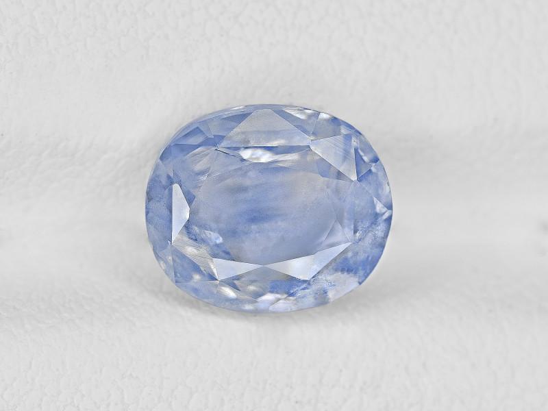 Blue Sapphire, 3.66ct - Mined in Kashmir | Certified by GRS