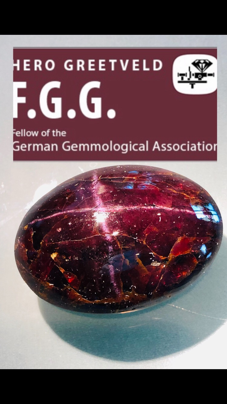 650 CT STAR GARNET - PROBABLY THE BIGGEST IN THE WORLD.  INCREDIBLY BEAUTIF