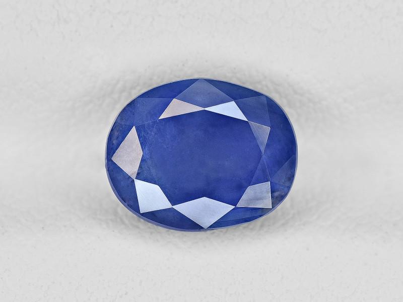 Blue Sapphire, 2.82ct - Mined in Kashmir   Certified by GRS