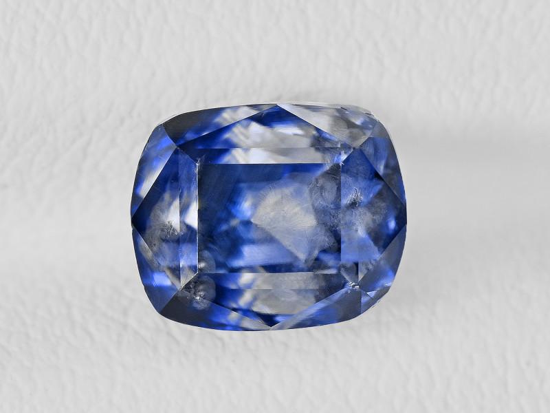 Blue Sapphire, 3.52ct - Mined in Kashmir | Certified by GRS