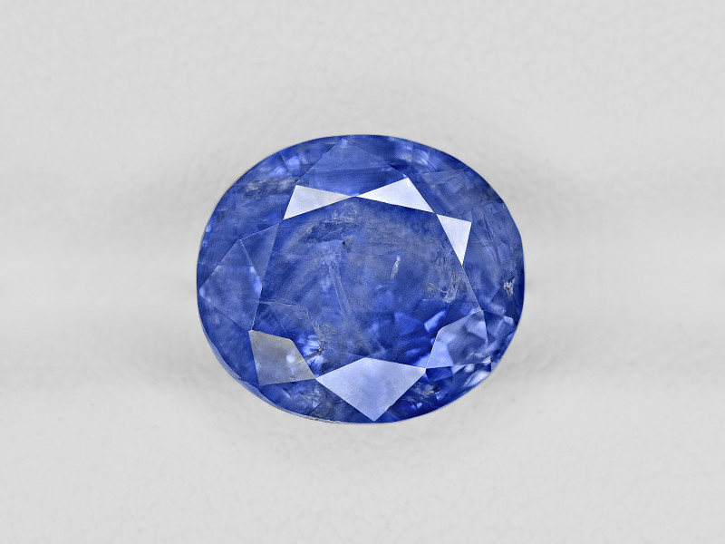 Blue Sapphire, 5.82ct - Mined in Kashmir | Certified by GRS