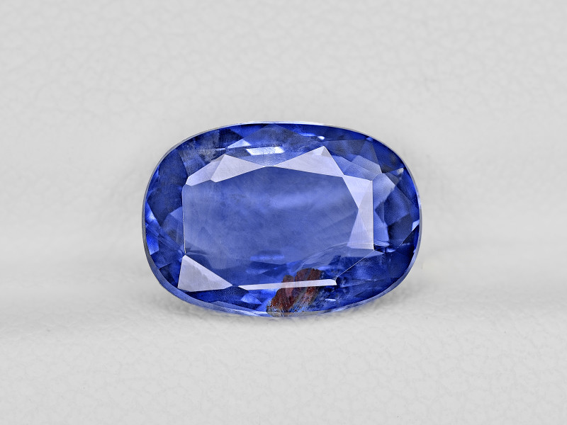 Blue Sapphire, 4.92ct - Mined in Kashmir   Certified by GIA