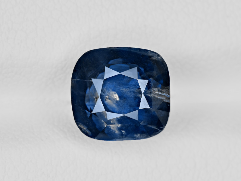 Blue Sapphire, 5.10ct - Mined in Kashmir | Certified by GIA
