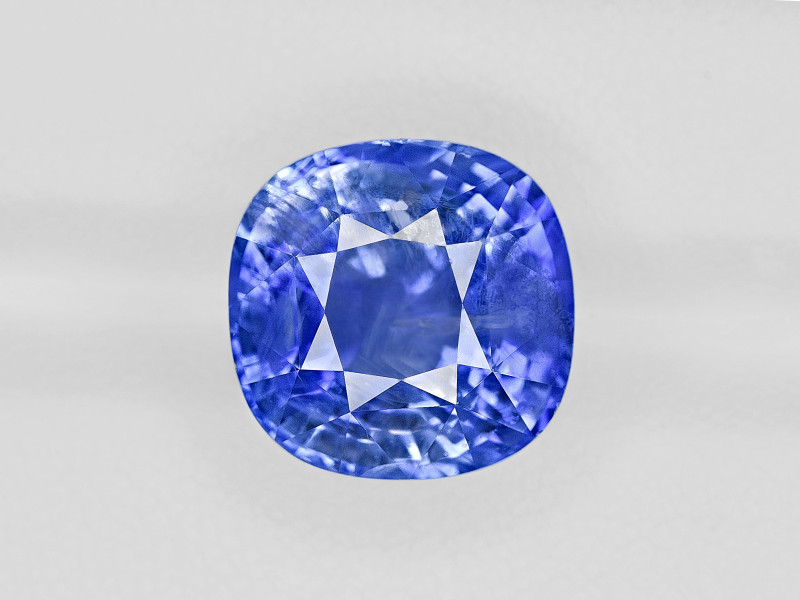 Blue Sapphire, 15.78ct - Mined in Sri Lanka | Certified by GRS