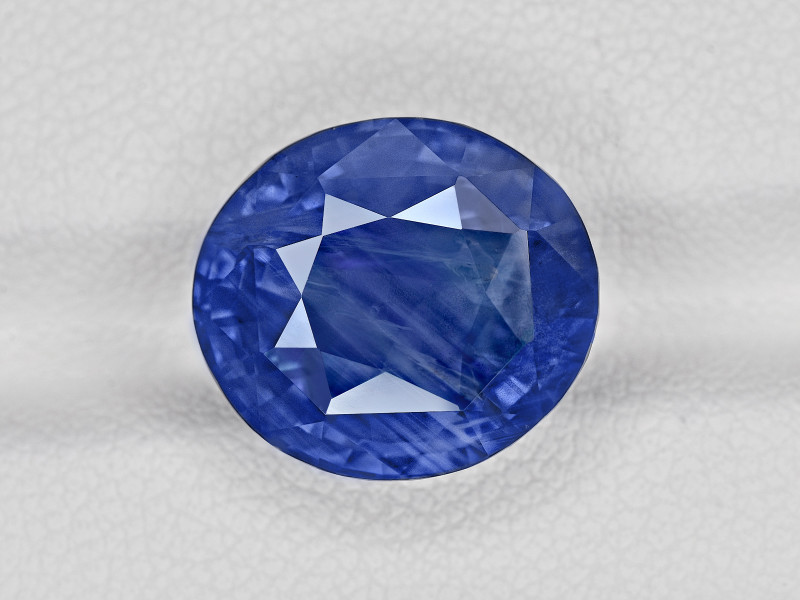 Blue Sapphire, 13.09ct - Mined in Sri Lanka   Certified by GIA & GRS