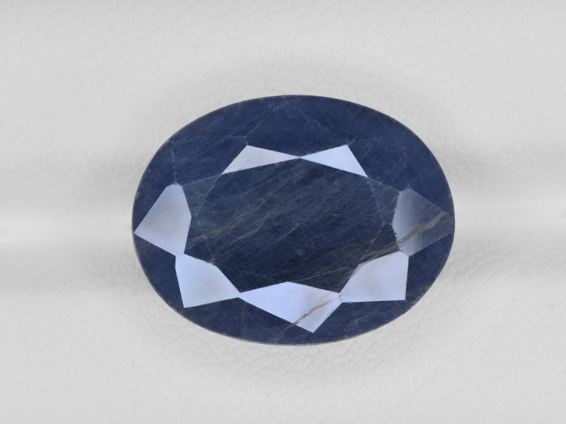 Blue Sapphire, 16.66ct - Mined in India | Certified by AIGS