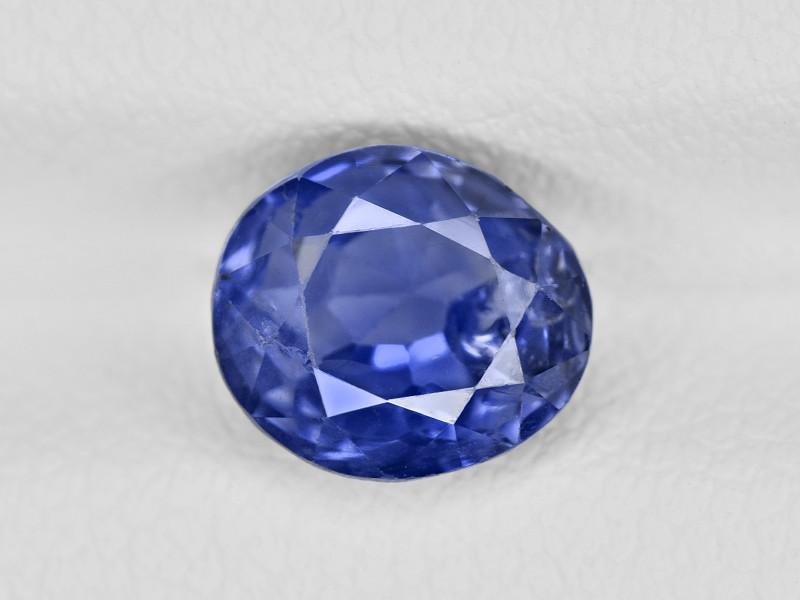 Blue Sapphire, 2.16ct - Mined in Burma | Certified by GRS