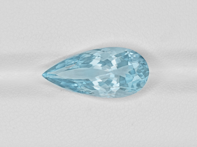 Aquamarine, 4.51ct - Mined in India   Certified by IGI