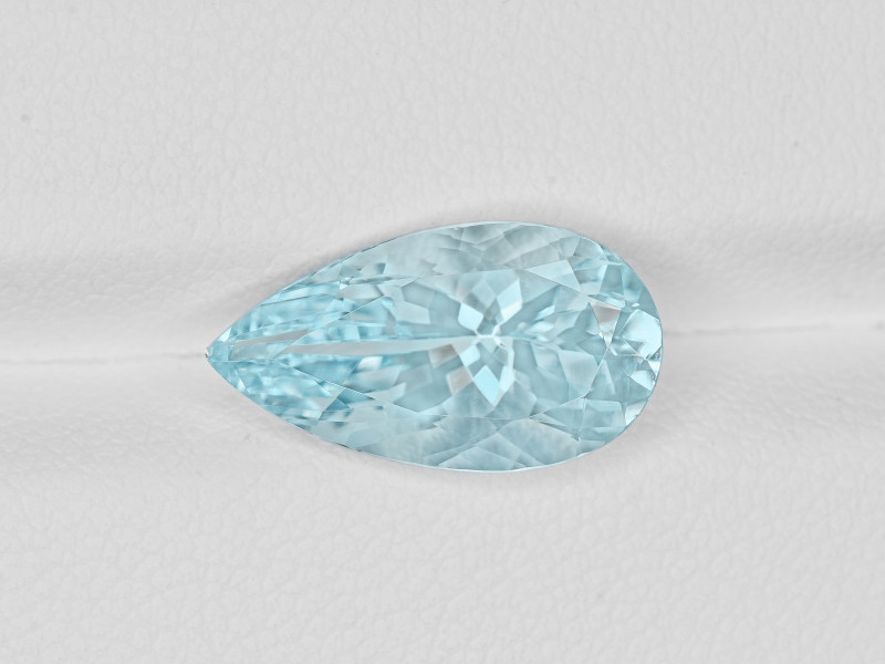 Aquamarine, 3.74ct - Mined in India | Certified by IGI