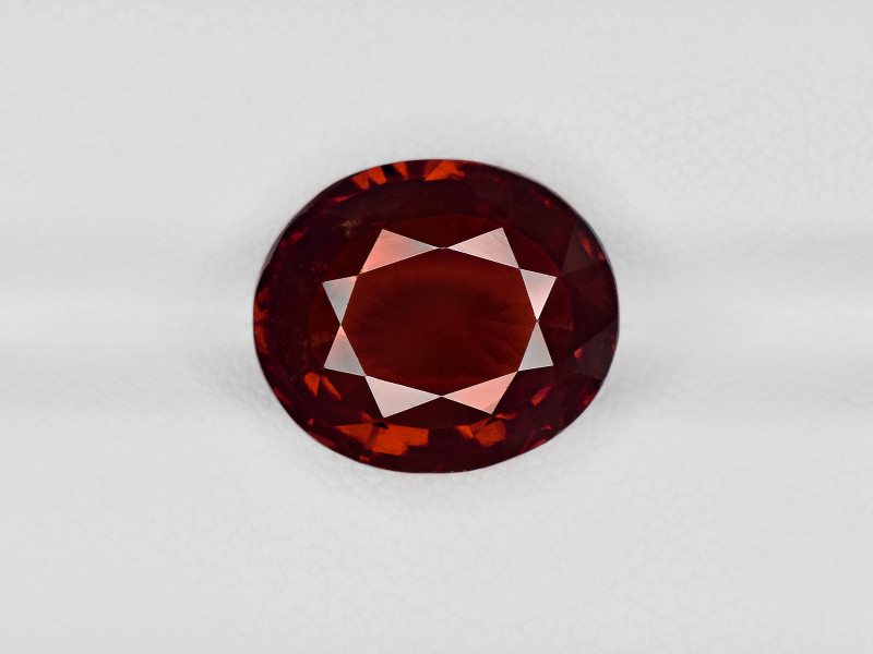 Hessonite Garnet, 8.90ct - Mined in Sri Lanka | Certified by IGI