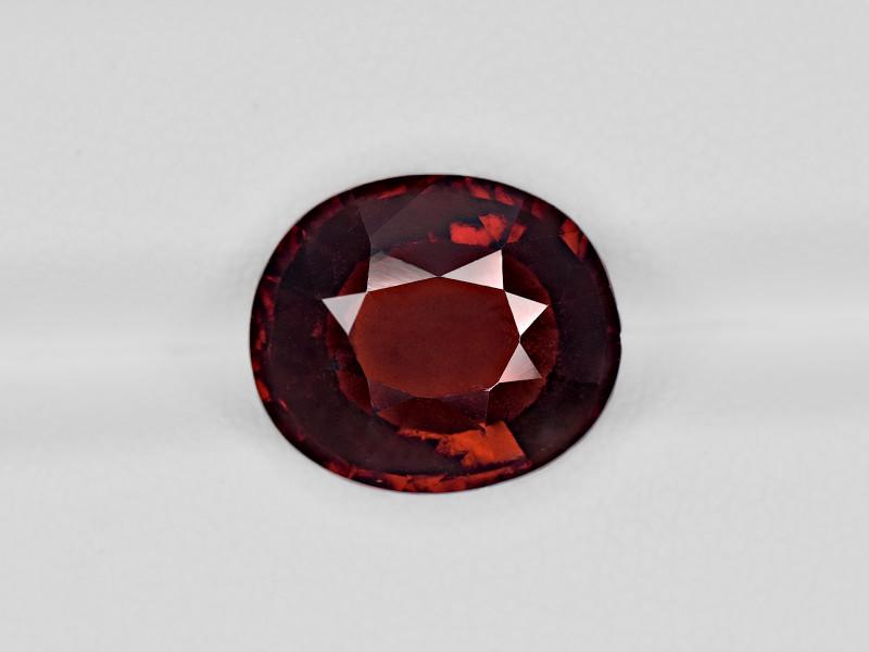 Hessonite Garnet, 7.42ct - Mined in Sri Lanka | Certified by IGI