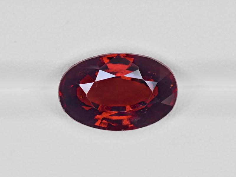 Hessonite Garnet, 7.69ct - Mined in Sri Lanka | Certified by IGI