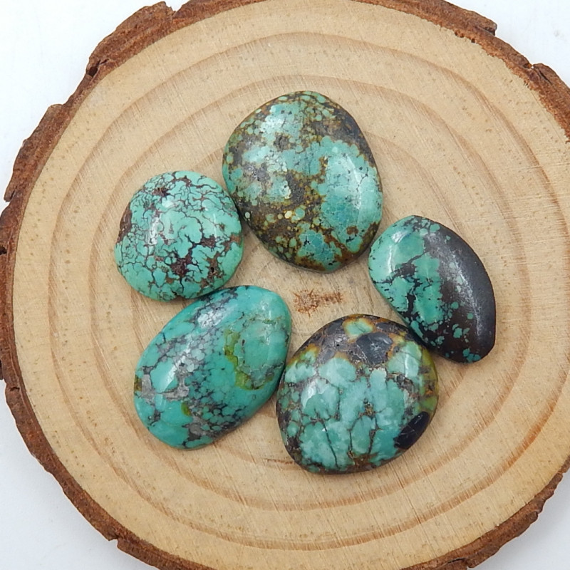 38cts Lucky Turquoise ,Handmade Gemstone ,Turquoise Cabochons ,Lucky Stone