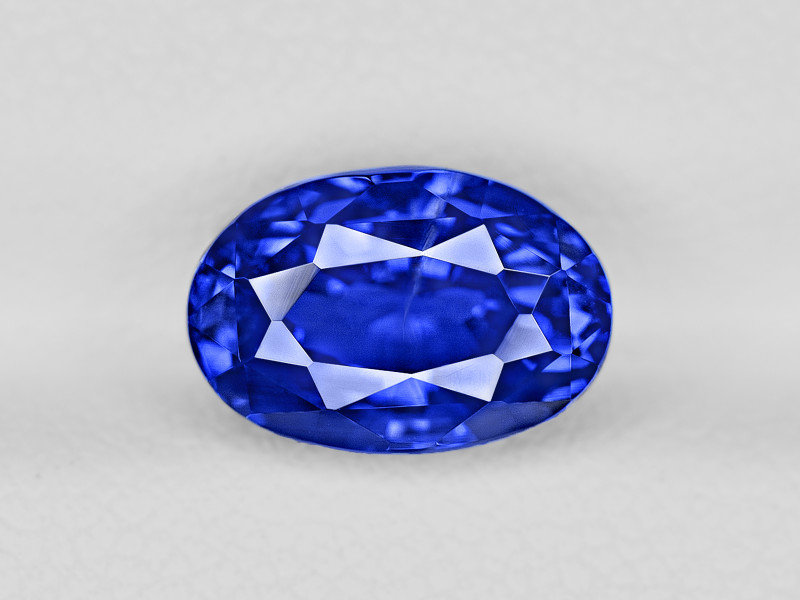 Blue Sapphire, 4.17ct - Mined in Sri Lanka | Certified by GIA & GRS