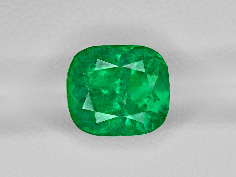 Emerald, 3.28ct - Mined in Colombia   Certified by GRS