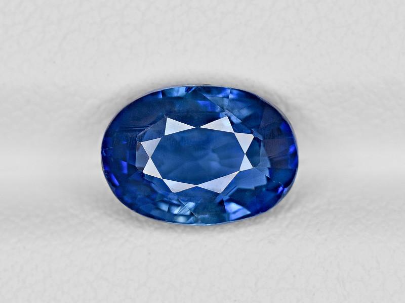 Blue Sapphire, 3.01ct - Mined in Sri Lanka | Certified by GRS