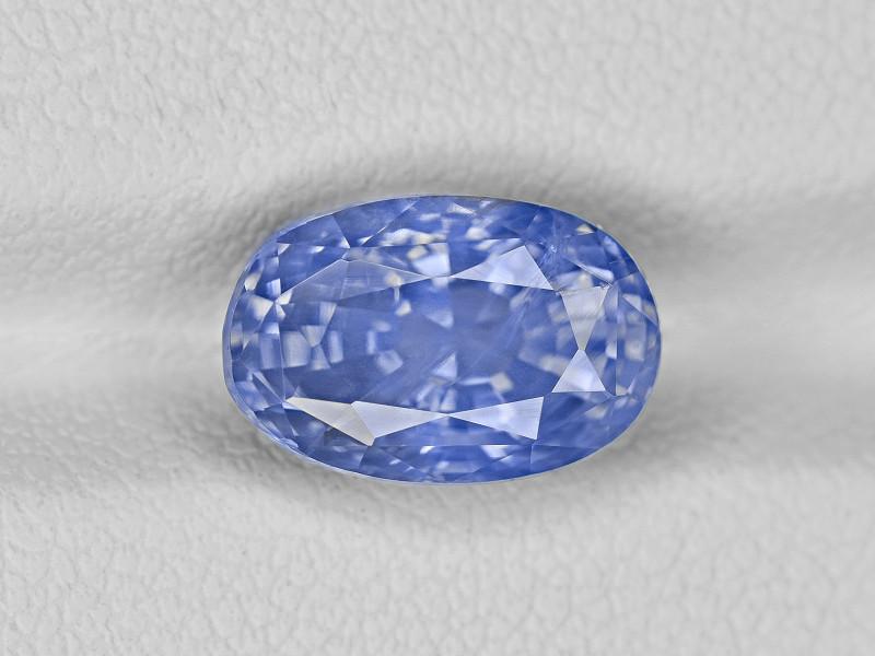Blue Sapphire, 5.55ct - Mined in Sri Lanka | Certified by GRS