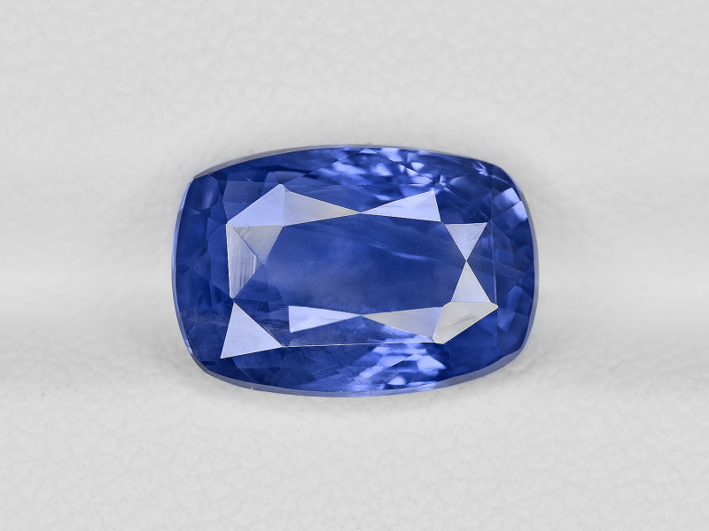 Blue Sapphire, 4.66ct - Mined in Sri Lanka | Certified by GRS