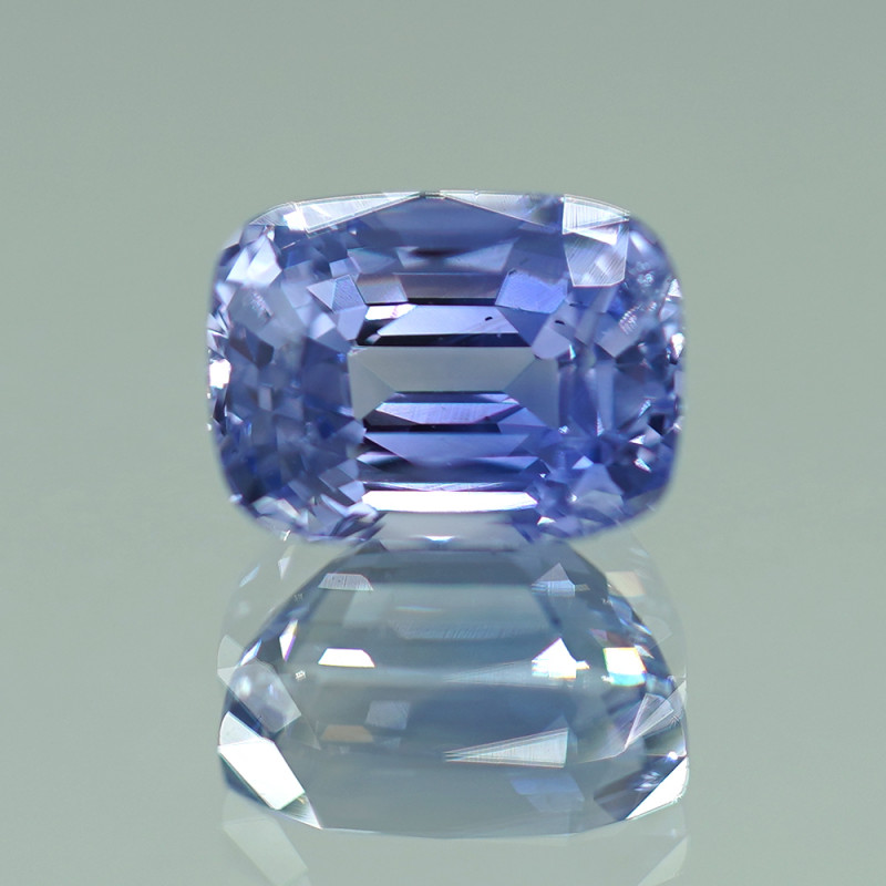 7.96CT GIA CERTIFIED UNHEATED TOP BLUE-VIOLET CEYLON SAPPHIRE