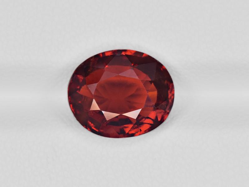 Hessonite Garnet, 5.15ct - Mined in Sri Lanka | Certified by IGI