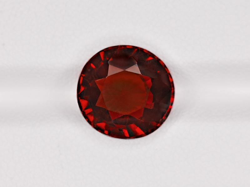 Hessonite Garnet, 7.21ct - Mined in Sri Lanka | Certified by IGI