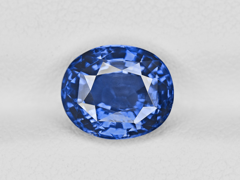 Blue Sapphire, 3.51ct - Mined in Sri Lanka | Certified by GIA & GII
