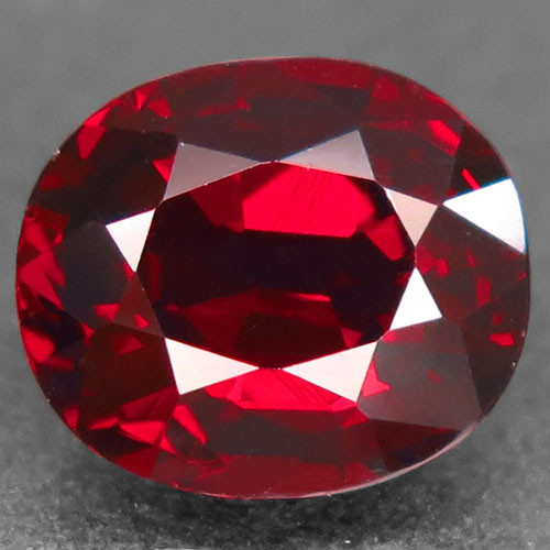 4.65Ct. Natural Top Red Rhodolite Garnet Africa Oval Facet Attractive Unhea
