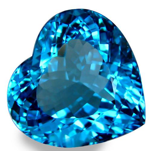 38.38 ct. 100% Natural Top  Blue Topaz Brazil