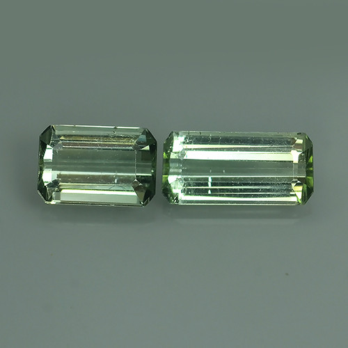 1.95 CTS OCTOGON CUT 100%NATURAL GREEN MOZAMBIQUE TOURMALINE GEM!!