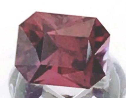 2.19 ct Custom Cut Pinkish Red Umbalite Garnet - Malawi G303