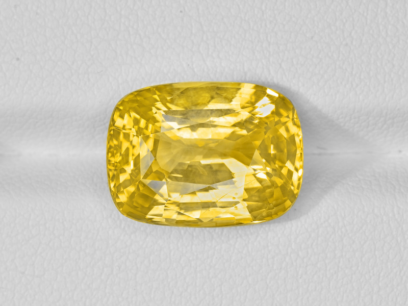 Yellow Sapphire, 13.37ct - Mined in Sri Lanka | Certified by GRS