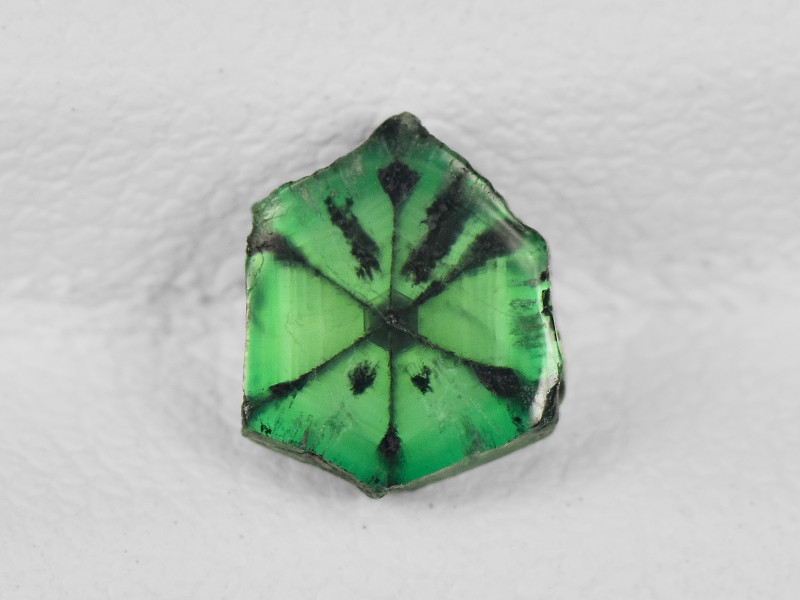 Trapiche Emerald, 0.79ct - Mined in Colombia | Certified by IGI