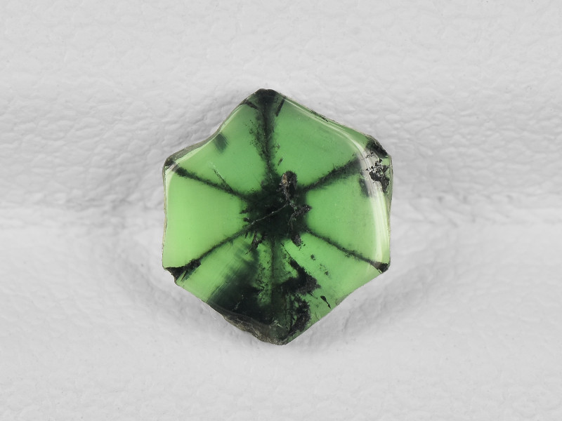 Trapiche Emerald, 1.05ct - Mined in Colombia   Certified by IGI