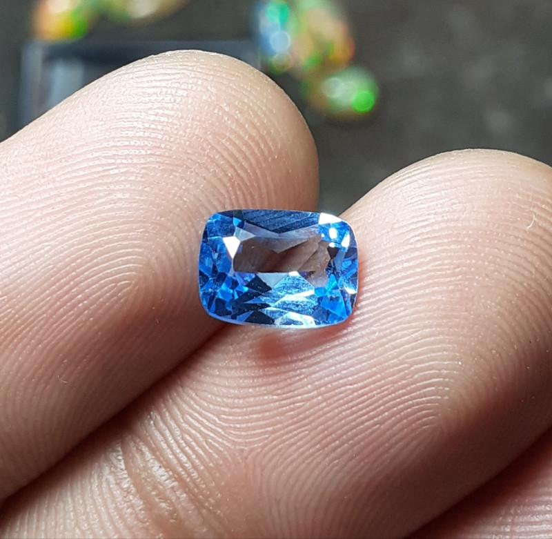1.80 CRT SWISS BLUE TOPAZ