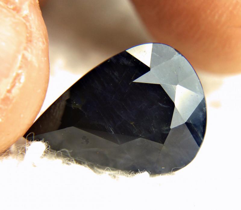 12.94 Carat Natural Blue Sapphire - Gorgeous
