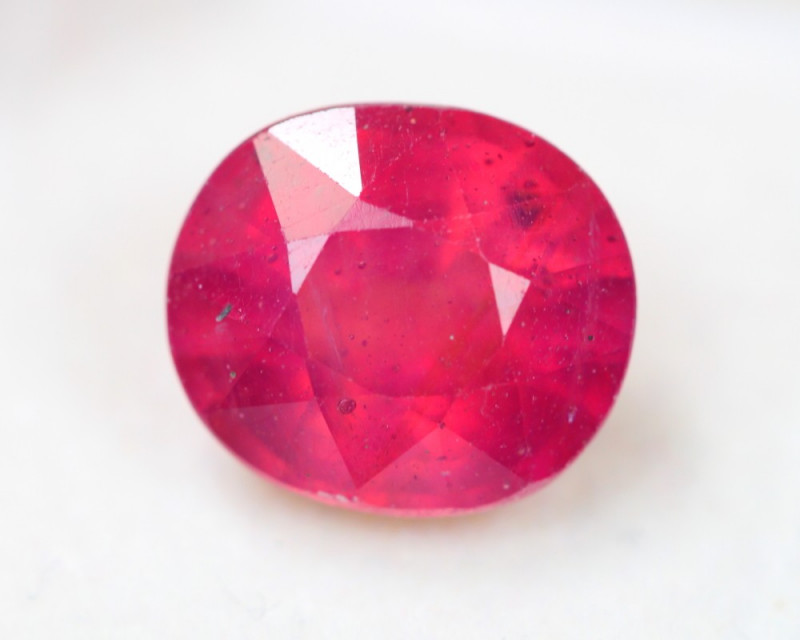 8.95Ct Ruby Oval Cut Lot LZB681