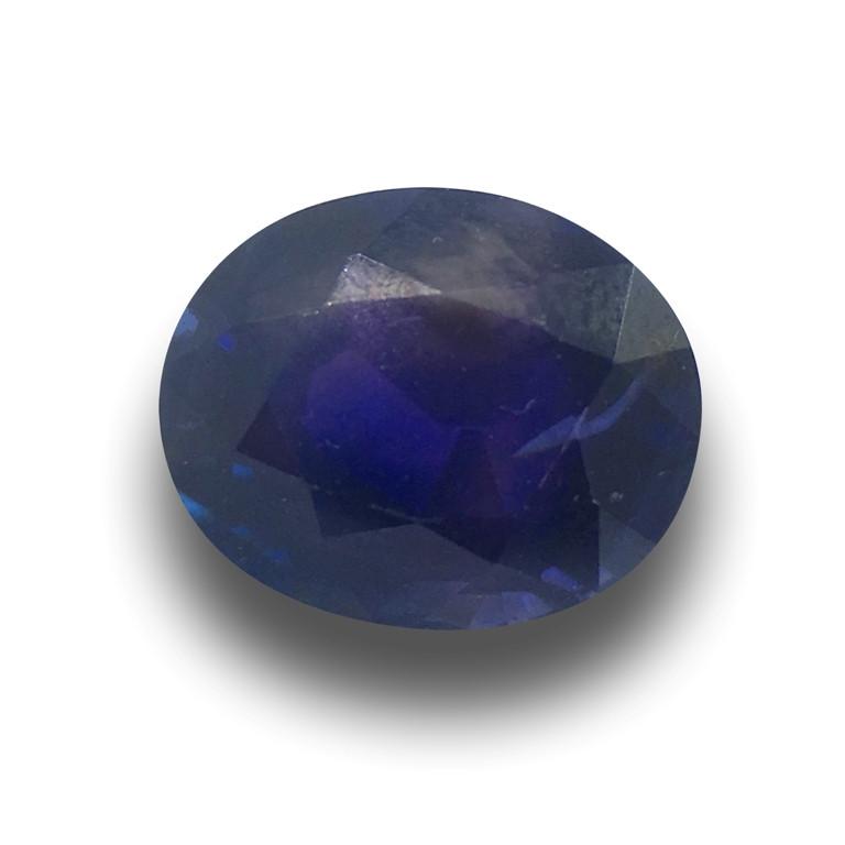 Natural Unheated Royal Blue Sapphire  Loose Gemstone New  Sri Lanka