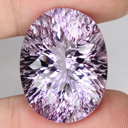 23.02 Cts AMAZING RARE ROSE AMETHYST LOOSE GEMSTONE
