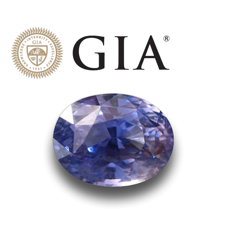 Natural GIA Unheated Blue Sapphire  Loose Gemstone New  Sri Lanka