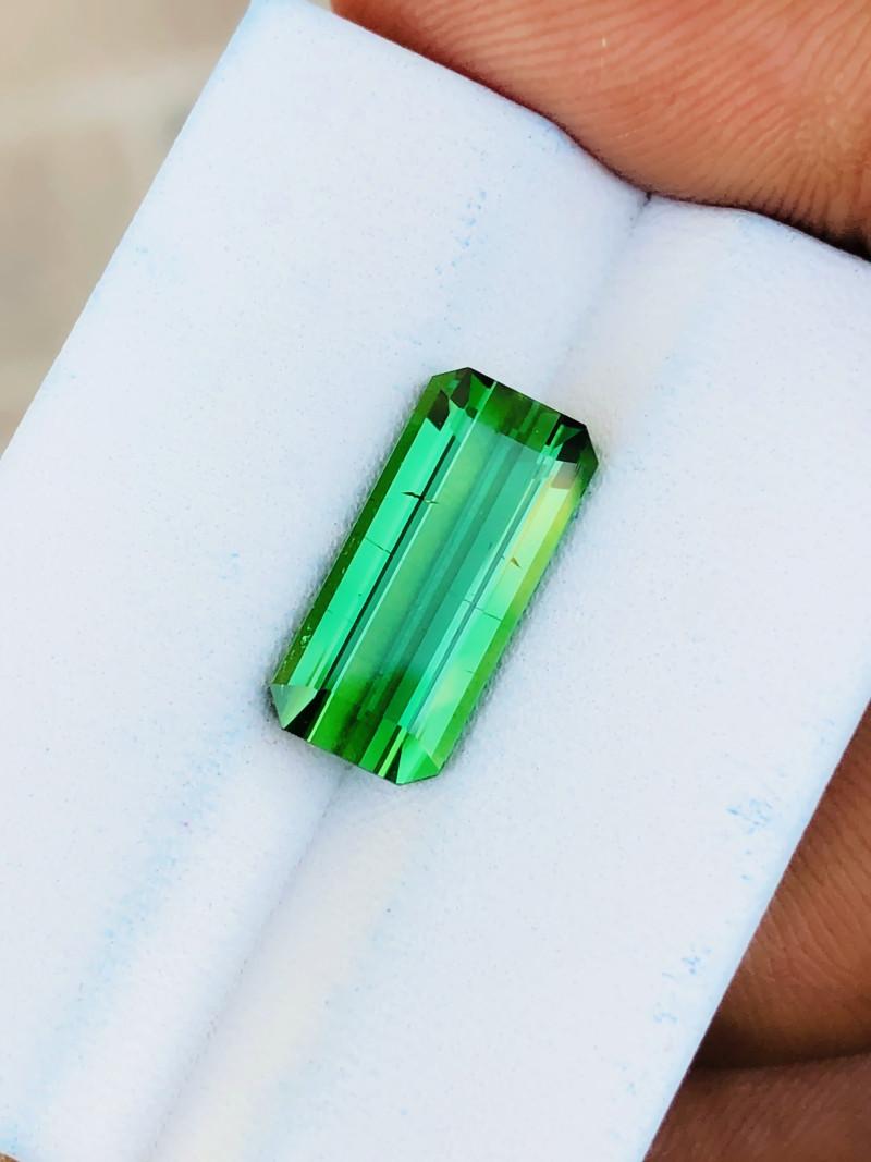 4.50 Ct Natural Greenish Transparent Tourmaline Ring Size Gemstone