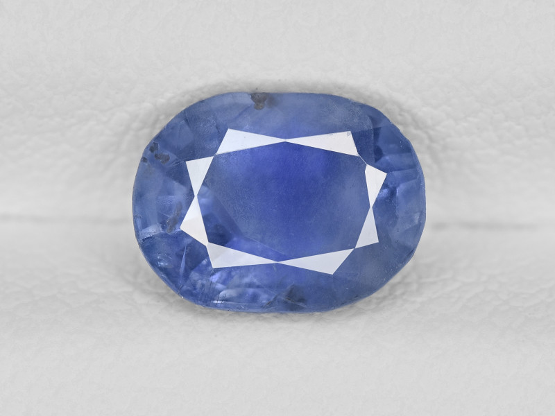 Blue Sapphire, 1.93ct - Mined in Kashmir | Certified by GIA & IGI